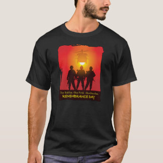 Standing Tall Remembrance Day T-Shirts