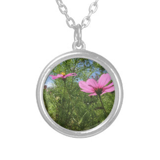 Standing Tall Silver Plated Necklace