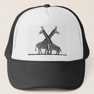 Standing tall trucker hat