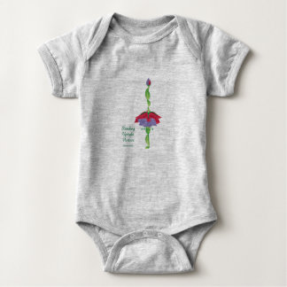 Standing Upright Posture (Baby Jersey Body suit) Baby Bodysuit