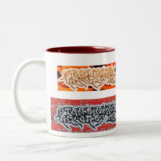 STANDINLINE RECORDS,LLC COLLECTABLE Two-Tone COFFEE MUG