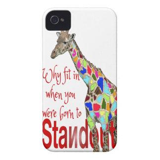 Standout cute giraffe iphone cases