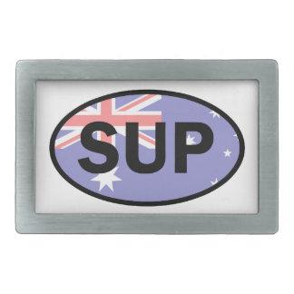 Standup Paddleboard Australia Flag Belt Buckles