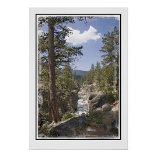 Stanislaus River near Kennedy Meadows- Poster