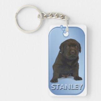 Stanley Dog Tag Keychain
