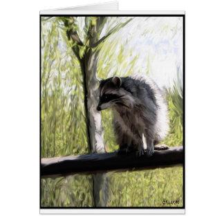 "Stanley Park ""Rocky"" the Raccoon Gylliayn Art Card"
