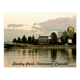 Stanley Park Serene Life Postcard