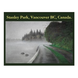 Stanley Park, Vancouver BC. Postcard