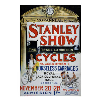 Stanley Show Cycles Exhibition Poster