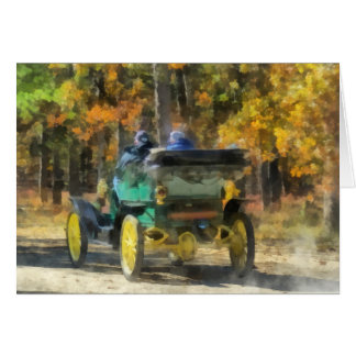Stanley Steamer Automobile Card