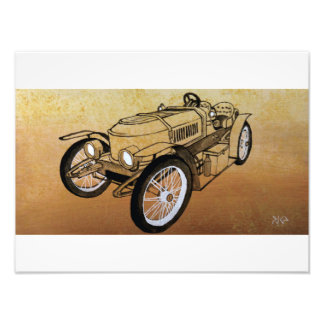 Stanley Steamer Roadster Photo Print
