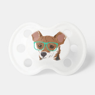 Stanley the Chihuahua mix Pacifier