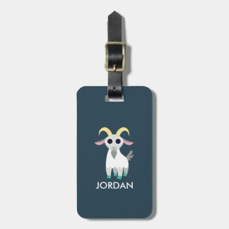 Stanley the Goat Luggage Tag