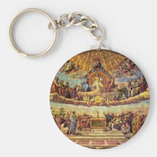 Stanza Della Signatura In The Vatican For Pope Jul Keychain