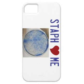 Staph Love Me in white iPhone 5 Case