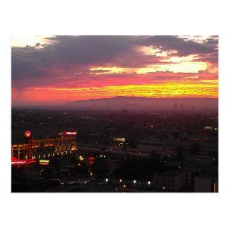 Staples Center Postcard | Beautiful Sunsets