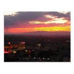 Staples Centre Postcard | Beautiful Sunsets