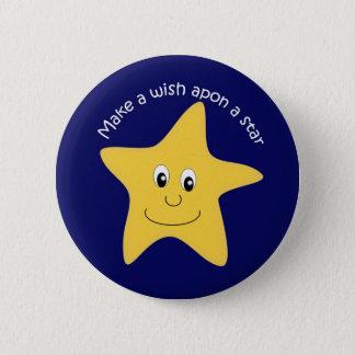 star 2 inch round button