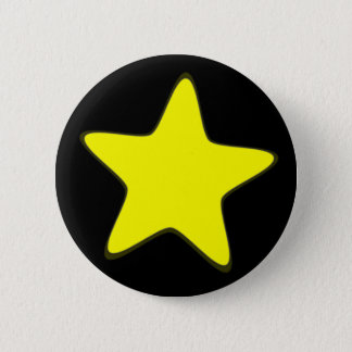 Star 2 Inch Round Button