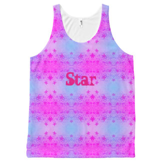 Star All-Over-Print Tank Top