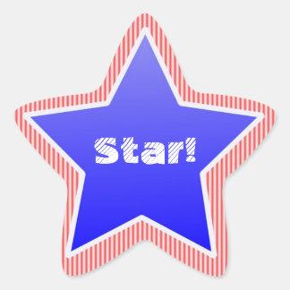 Star Award Star Stickers