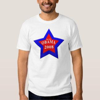 star Barack Obama 2008 Tshirts