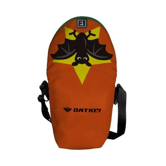 Star Bat Orange Commuter Bags