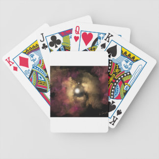 Star Birth Bicycle Playing Cards