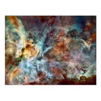 Star birth & death in the Carina Nebula Post Card