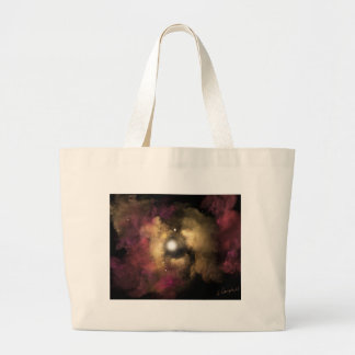 Star Birth Large Tote Bag