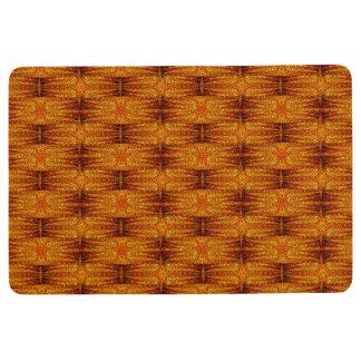 Star Birth Loving Orange-dish Floor Mat