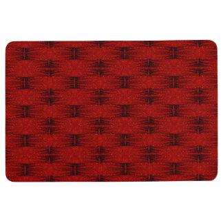 Star Birth Loving Red-dish Floor Mat