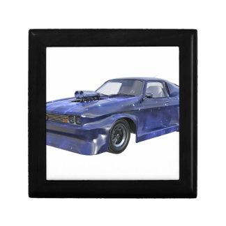 Star Blue Racing Car Gift Box