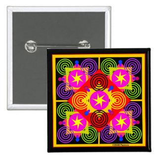 Star Box Geometric Buttons