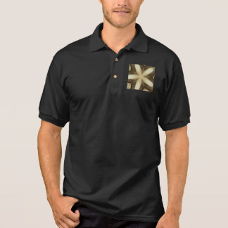 Star Brown White Rustic Design Colors Polo Shirt