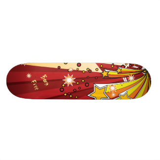 Star Burst Born Free Skate Board Decks