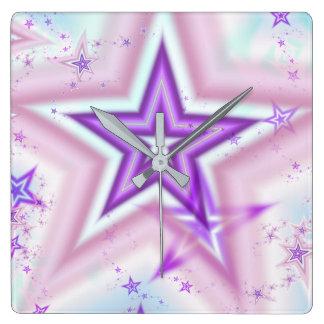 Star Burst Dreams Clock