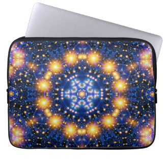 Star Burst Mandala Computer Sleeves