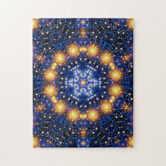 Star Burst Mandala Jigsaw Puzzle