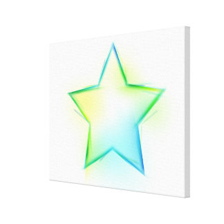 Star Gallery Wrapped Canvas