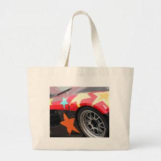 STAR CAR LARGE TOTE BAG