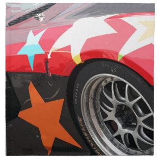 STAR CAR NAPKIN