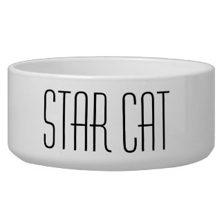 Star Cat Bowl