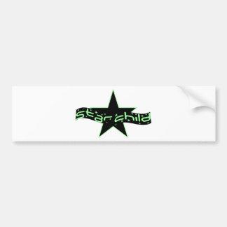 Star Child Bumper Sticker