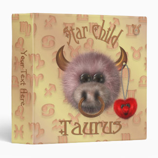Star Child - Taurus Keepsake Album Binder