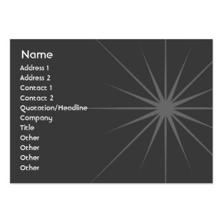 Star - Chubby Large Business Card