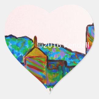 Star City Play Heart Sticker