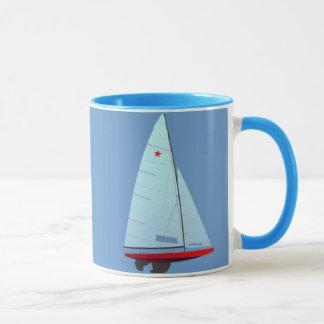 Star   Class Racing Sailboat Mug
