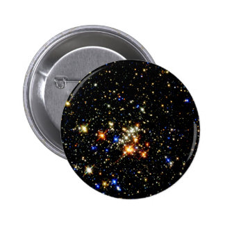Star Cluster 2 Inch Round Button
