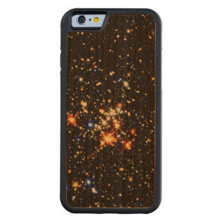 STAR CLUSTER (an outer space design) ~ Carved Cherry iPhone 6 Bumper Case